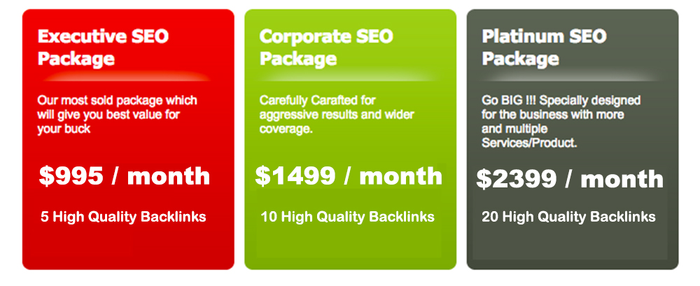 One SEO Off Site SEO Packages