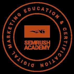 SEMRUSH SEO certification