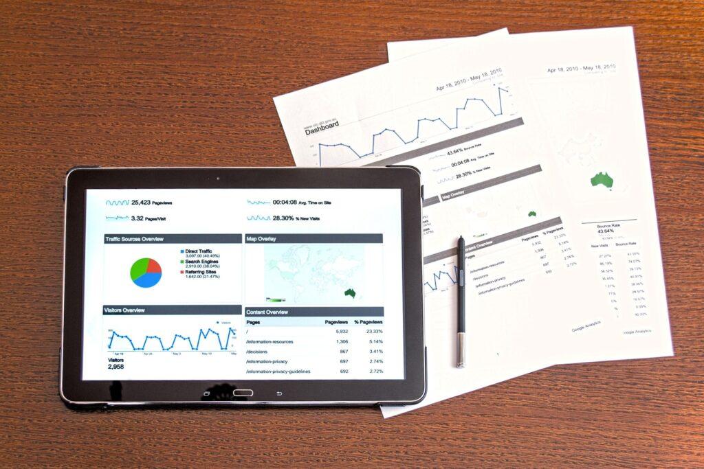 google analytics on smart mobile tablet