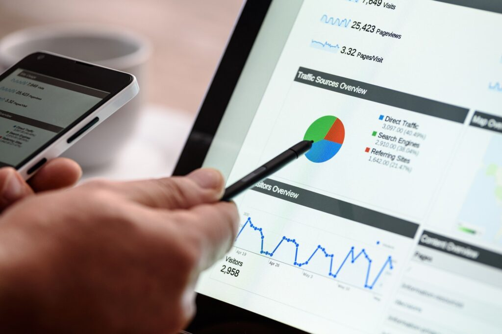 SEO reporting and analytics